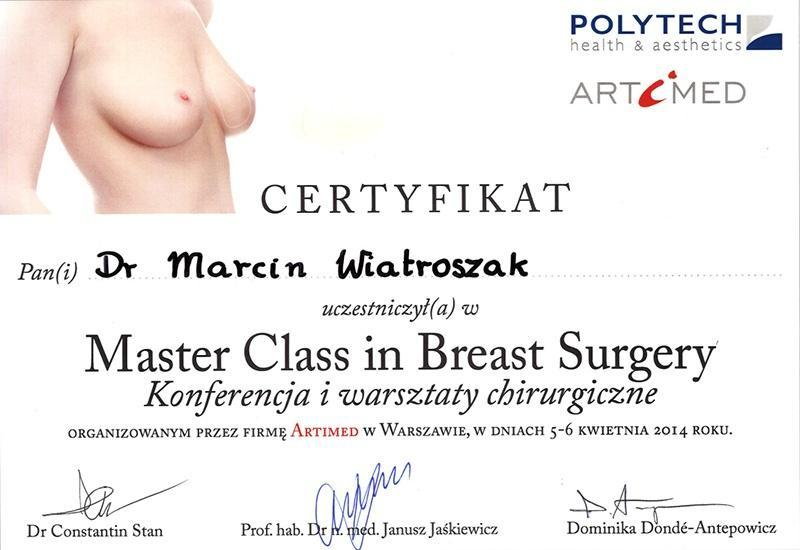 5-6.04.2014 Master Class in Breast Surgery